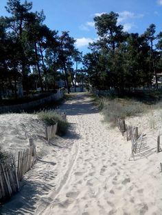 Une sorties plage de la cepe Travelling, Sidewalk, Europe, Memories, French, Water, Outdoor, Exit Room, The Beach