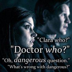 Clara Who? Doctor Who?