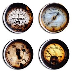Steampunk Gauges on the Cheap