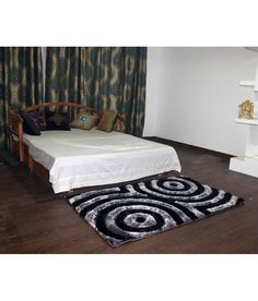 Rugs On Carpet, Carpets, Indian Colours, Black Abstract, Colors, Bed, Furniture, Home Decor, Farmhouse Rugs