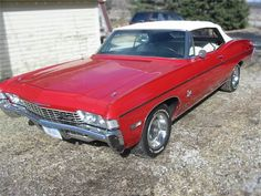 Classic Car News Pics And Videos From Around The World Camaro Rs, Chevrolet Chevelle, 1968 Chevy Impala, Convertible, Gm Car, Classic Chevrolet, Vintage Cars, Antique Cars, Custom Cars