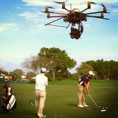 golf channel drone camera [ store.helivideopros.com ] #drone #aerial #film