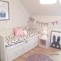 GET THE LOOK: habitación en pastel y detalles en negro   Deco&Kids