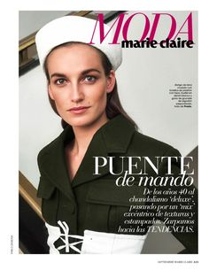 """Military Show"" Smith Vanders for Marie Claire Spain September 2016"