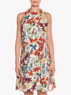 Floral Garden Tiered Dress