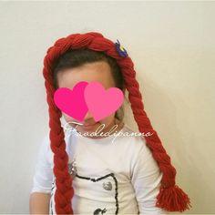 Cerchietto principessa #anna di #frozen #favoledipanno