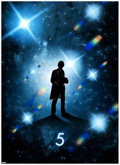 The 5th doctor by Matt Ferguson #doctorwho