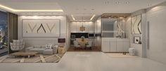 Personalized design for a client // Ascott Apartment - Kuningan, Jakarta //  Design by wsadesign Instagram : @wsadesign Contact : wsa@wsadesign.com