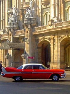 In front of the Gran Teatro, Havana Cuba.  Photo: Craig ! via Flickr