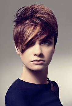 Lovely Pixie Cut with Awesome Bangs