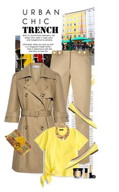 """Urban Chic..The Trench Coat..Happy Sunday !!!"" by shortyluv718 ❤ liked on Polyvore featuring RIETVELD by Rietveld, MICHAEL Michael Kors, RED Valentino, J.Crew, MANGO, Venessa Arizaga, Valentino, Chanel, men's fashion and menswear"