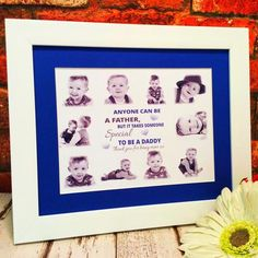 your gifts made with love my special daddy personalised collage frame