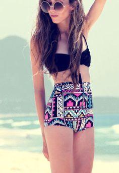 Vintage High Waist Bikini.......... | Made In Moda