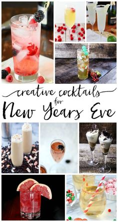 These cocktails for New Years Eve look and sound amazing! Some Spiced Cranberry Moonshine & some Pomegranate Martinis will be PERFECT for our celebration! New Years Eve Drinks, New Year's Drinks, New Year's Eve Cocktails, New Years Eve Food, Holiday Cocktails, New Years Eve Party, Cocktail Drinks, Yummy Drinks, Cocktail Recipes