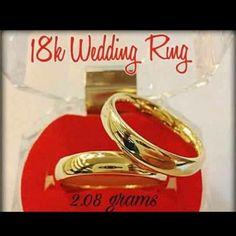 Shopee Gold Wedding Rings, Gold Wedding Bands