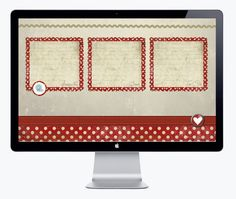 {Declutter Your Desktop With Style} Cutes Valentine's desktop organizer, like the free iPhone versions too. Is your computer as messy as mine?
