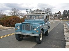 Ole Blue: '71 Land Rover Series IIA 88″