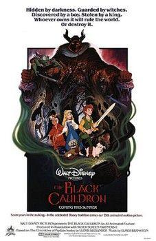'The black cauldron' (1985) brews up a heap of dark fun