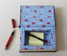 Kisten & Boxen - Buchbox mit Druckknopfverschluss - ein Designerstück von Buchkiste bei DaWanda.  Buch upcycling, Basteln mit Büchern