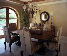Tuscan dinning room | Tuscan Dining Room