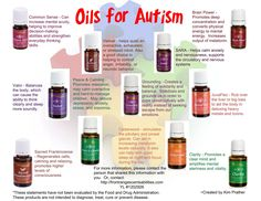 Young living essential oils for autism help