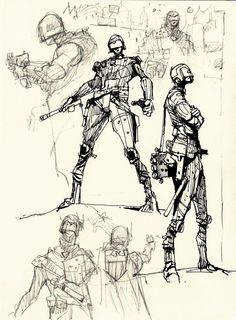 Sketchbook: Lawmen.