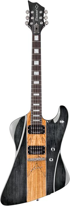 2015 Diamond Guitars Hailfire SM Electric Guitar - Trans Charcoal