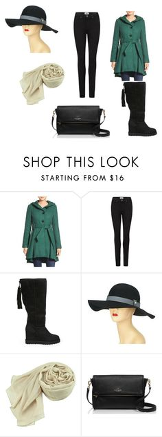 """""""Winter is here"""" by kristin-k1234 on Polyvore featuring Steve Madden, Paige Denim, Liz Claiborne and Kate Spade"""