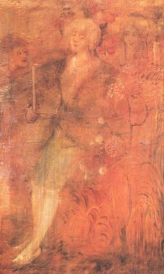 Gulácsy Lajos, Chevalier aux Roses, 1914 New College, Art Database, Hanging Art, Art World, Painting, Roses, Paul Klee, Artist, Feels