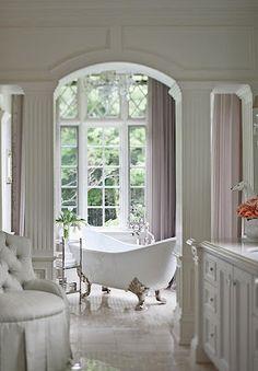 white and light bathroom