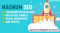 Magnum SEO – 10,000 Backlinks – UNLIMITED Traffic –  50 PR9 Signals with Bookmarks included and promotion to 1 MILLION people on Social Media – 20,000+ orders completed