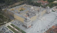 MAFRA's Palace and Convent. Extraordinary building! #Portugal