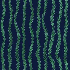 Flowing Plants by @fishuals  #pattern #sea #fabric #diy