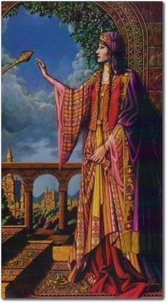 Image result for Queen Esther prophetic art