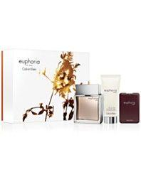 170bff0d8 Calvin Klein 3-Pc. Euphoria Men Gift Set Euphoria Men, Calvin Klein Euphoria