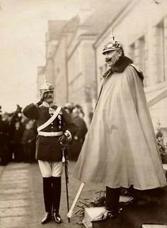 Kaiser Wilhelm ll of Prussia,Emperor of Germany....the last monarch if Germany.A♥W