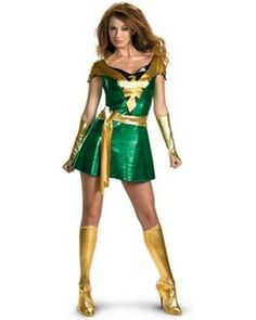 A great Phoenix costume for those X-Men fans out there.