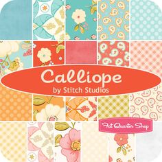 Calliope Fat Quarter Bundle Stitch Studios for Riley Blake Designs - Fat Quarter Shop