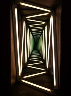 Ivan Navarro | More: www.pinterest.com/AnkApin/installations-backwalls