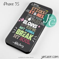 Katy Perry Song  Lyrics Phone case for iPhone 4/4s/5/5c/5s/6/6 plus