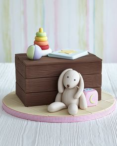 Toy Box Cake Tutorial