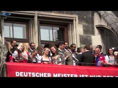 Sarah Romert & Mario Götze @ FCB Meisterfeier 2015 am 24.05.2015