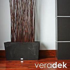 Veradek, Midori 31 in. x 9 in. Black Trough Plastic Planter, MLO31B at The Home Depot - Mobile