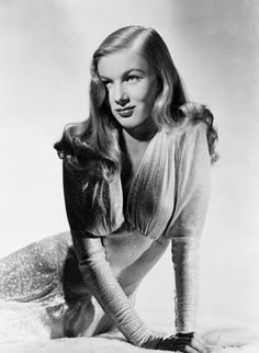 "VERONICA LAKE - ""I never styled her hair but I made a product for a client who challenged me to look like her. Janine Alleaux was a well-known and influencial beauty edior at Votre Beaute and then Marie France. She was an ""Irish redhead"" with really frizzy hair and she told me, ""I would believe in your products the day I look like Veronica Lake."" Phytodefrisant was created; then, she did look like her."" The 82-Year-Old Inventor of Blowouts on His Muses - The Cut"