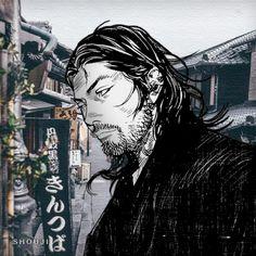 Character Concept, Character Design, Vagabond Manga, Inoue Takehiko, Samurai Artwork, Miyamoto Musashi, Gangsters, Warrior Cats, Anime Love