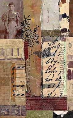 Photos officiel collages by dailypoetics Paper Collage Art, Collage Art Mixed Media, Paper Art, Canvas Paper, Art Journal Pages, Art Journals, Art Doodle, Encaustic Art, Assemblage Art