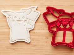 Pikachu Pokemon Cookie cutters Fondant
