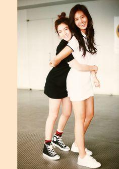 Hyoyeon & Yuri #SNSD