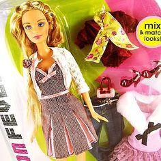 Fashion Fever Barbie mix & match looks!