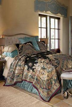 Ariya Tapestry Bed Sham - Tapestry Pillow Covers, Pillowcases